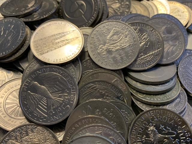 D-Mark Münzen