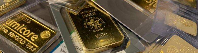 Goldbarren-Ankauf