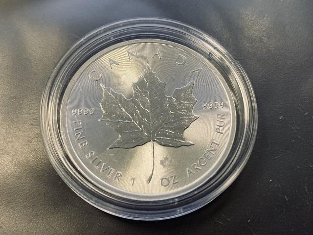 Goldmünze Maple Leaf