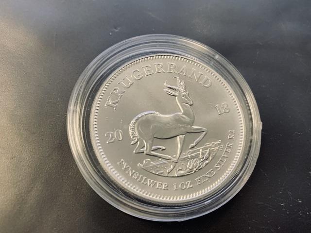 Krügerrand Silber